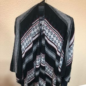 Forever 21 Native American Pancho/Scarf